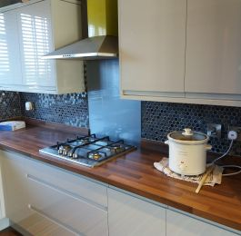 Kitchen tiling job Mapperley: Click Here To View Larger Image